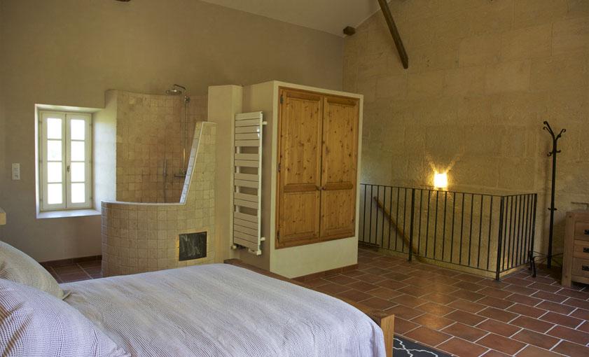 chambre Gîte Alpilles Mas de l'Hermitage
