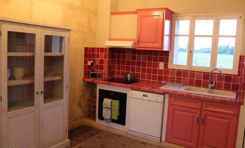 cuisine Gîte Provence Mas de l'Hermitage