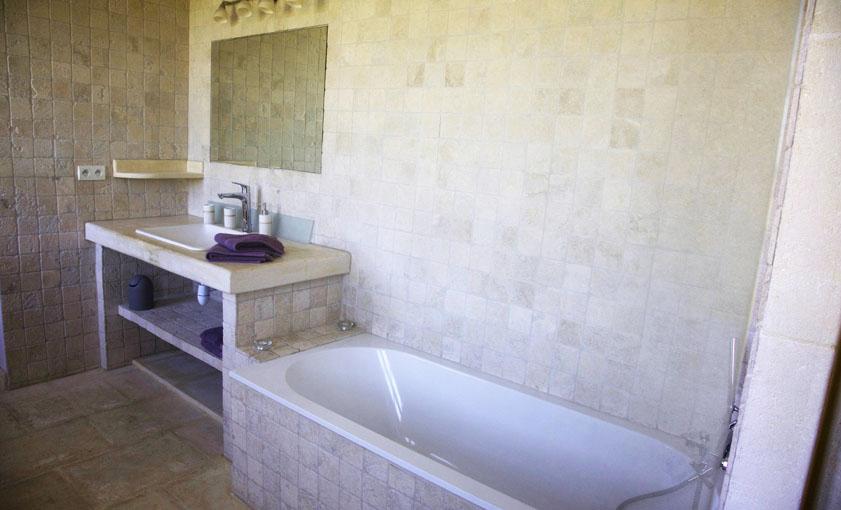 salle de bain Gîte Provence Mas de l'Hermitage