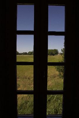 Vue du Gîte Camargue Mas de l'Hermitage