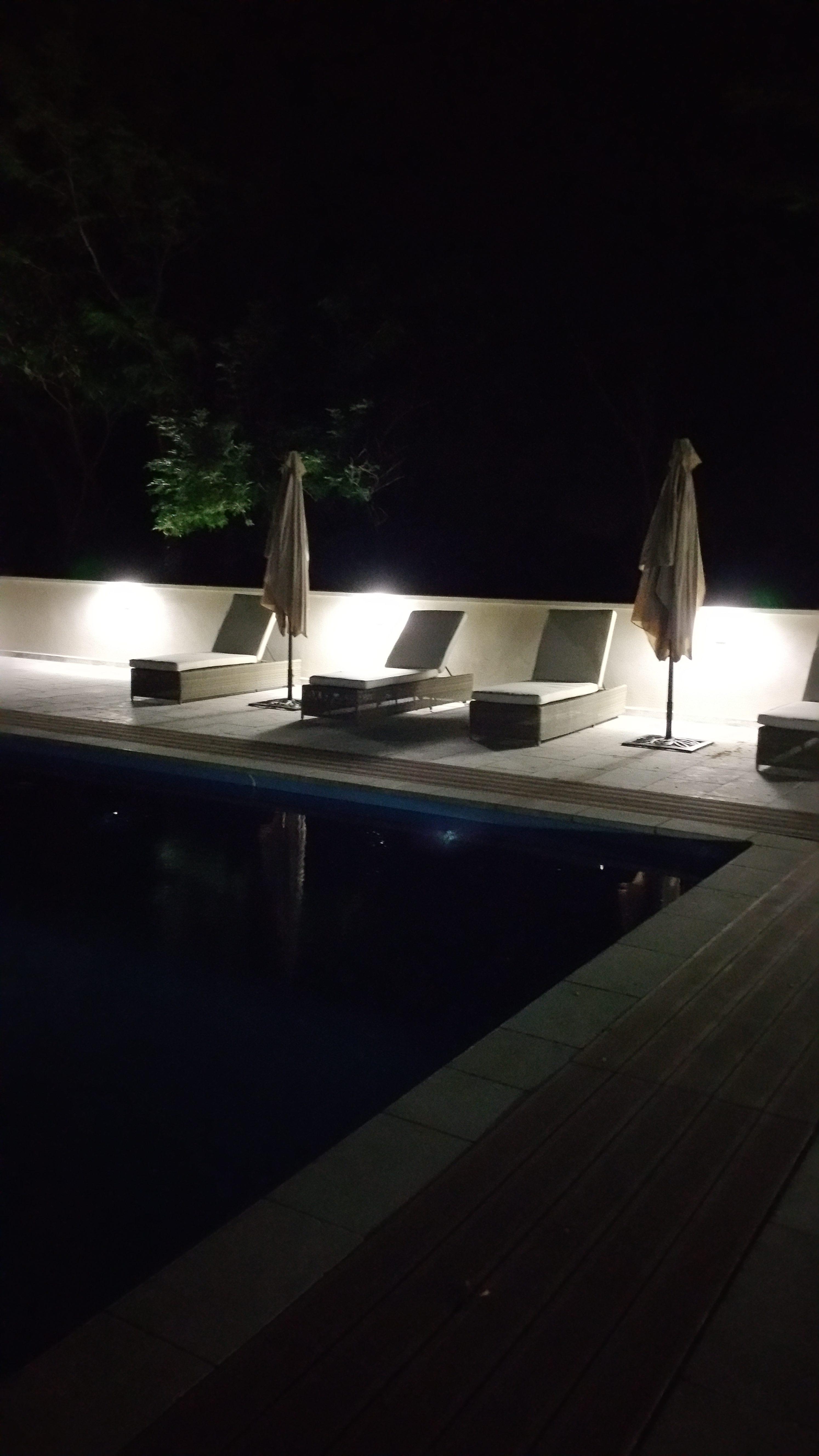 piscine nacht
